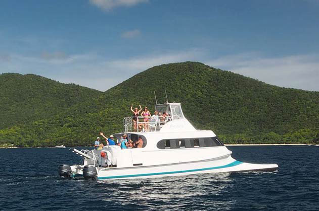 Bad Kitty St John Virgin Islands Blue Ocean Booking